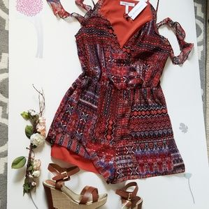 🆕️🌺BCBGENERATION Multicolored Romper🌺